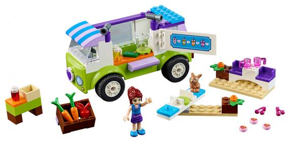 LEGO Friends Juniors 10749 Mia a trh s biopotravinami