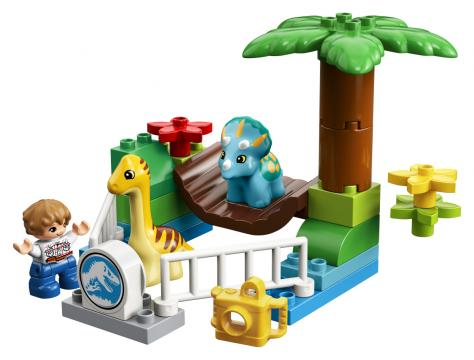LEGO DUPLO Jurassic World 10879 Dinosauří zoo
