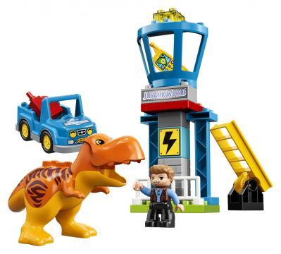 LEGO DUPLO Jurassic World 10880 Trex a věž