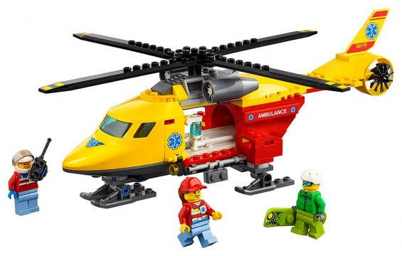 LEGO City 60179 Záchranářský vrtulník