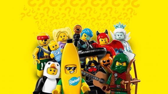 LEGO Minifigurky 71013 16. serie