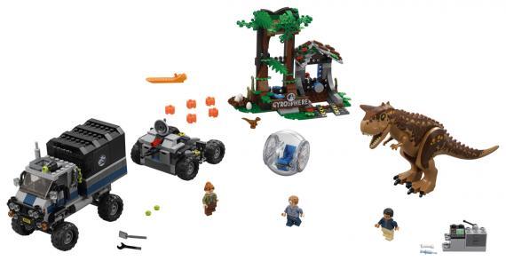 LEGO Jurassic 75929 Útěk Carnotaura z Gyrosféry
