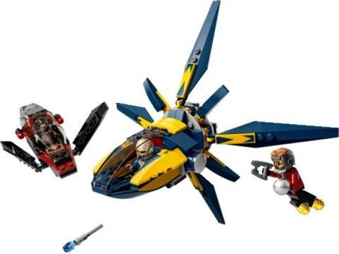 LEGO Super Heroes 76019 Starblaster - souboj