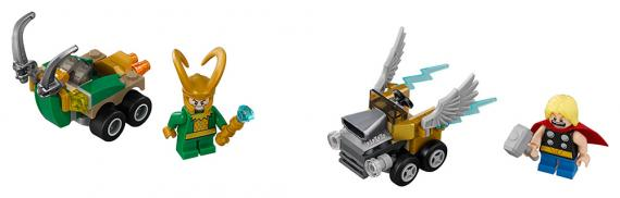LEGO Super Heroes 76091 Mighty Micros: Thor vs. Loki