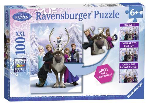 Ravensburger puzzle Ledové království  100 dílků XXL