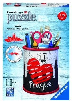 Stojan na tužky I love Prague 54 dílků 3D