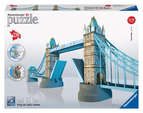 Ravensburger 3D puzzle Tower Bridge 216 dílků