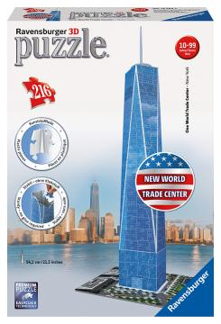 Ravensburger 3D puzzle New World Trade Center 216 dílků