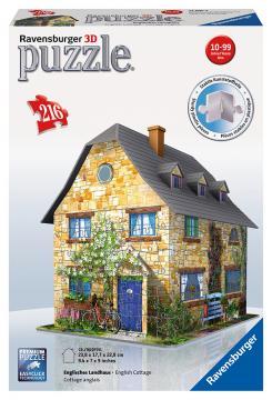 Ravensburger puzzle 3D Anglická chata 216 dílků