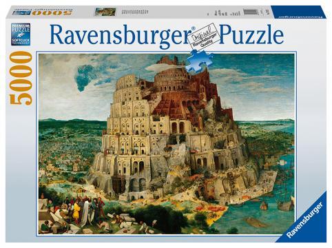 Ravensburger puzzle Babylonská věž 5000 dílků