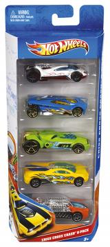 Hot Wheels Angličák 5ks