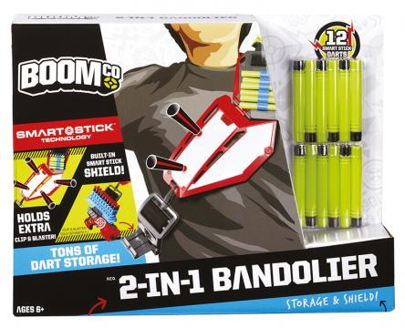 Boom Co Pás na náboje 2v1