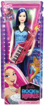 Barbie Rock N´ Royals Rockerka, více druhů