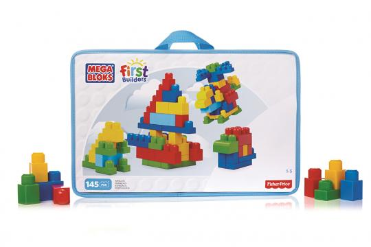 Mega Bloks First Builders DELUXE BUILDING BAG (145)