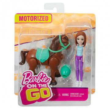 Barbie MINI PANENKA A PONY, více druhů