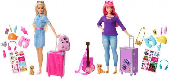 Barbie Cestovatelka, více druhů