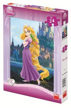 Dino puzzle Disney Princezna na vlásku 24 dílků