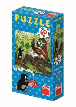 Dino puzzle Jak Krtek uzdravil myšku 60 dílků
