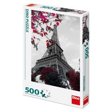 Pod Eiffelovou věží Dino puzzle