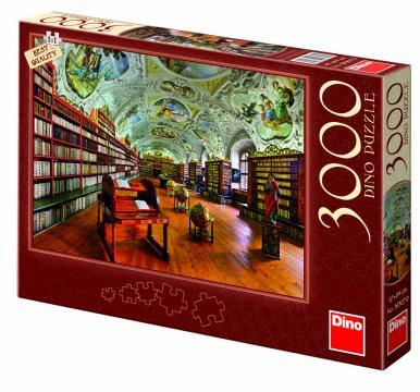 Dino puzzle Strahovská knihovna 3000 dílků