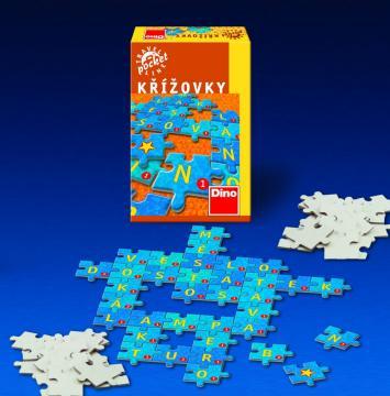 Hra malá Křížovky cestovní