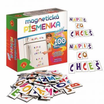 Magnetická písmenka na lednici