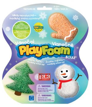 Modelína PlayFoam Boule- Vánoční set