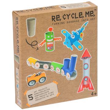 Set Re-cycle me pro kluky – role toalení papír