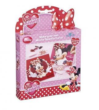 Totum Minnie glitrové pískování