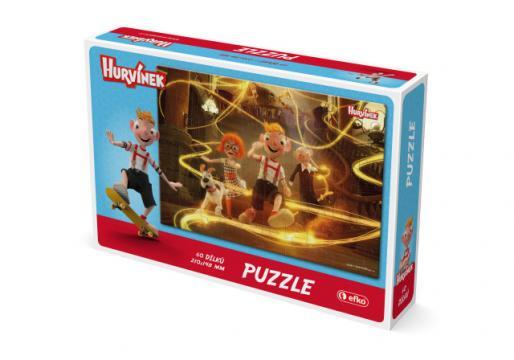Puzzle Hurvínek 60 dílků II