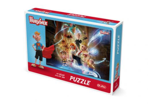 Puzzle Hurvínek 60 dílků IV