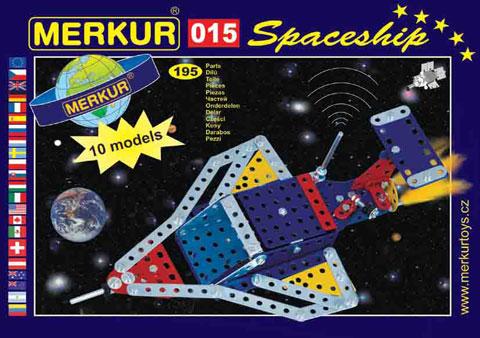 Stavebnice Merkur - Raketoplán