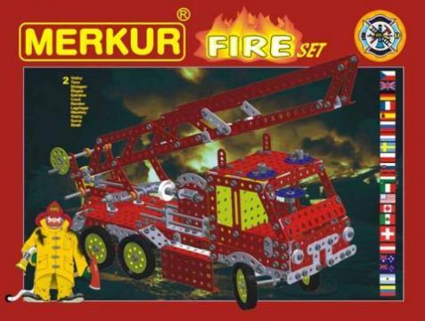 Stavebnice Merkur - Fire set