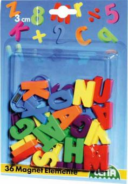 Lena Magnetická písmena velká, 30mm