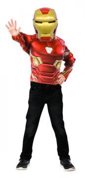 Avengers Infinity War: Iron Man - kostým triko s vycpávkami a maska