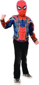 Avengers Infinity War: Spiderman - kostým triko s vycpávkami a maska