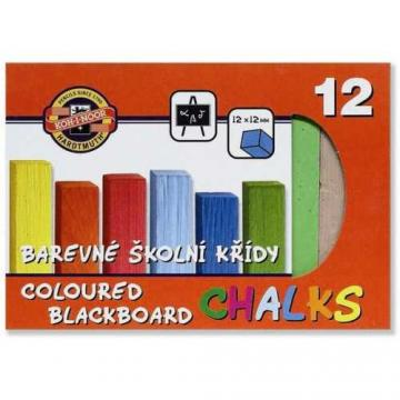 Křída školní  barevná