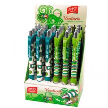 Pero kuličkové Venturio modro-zelené