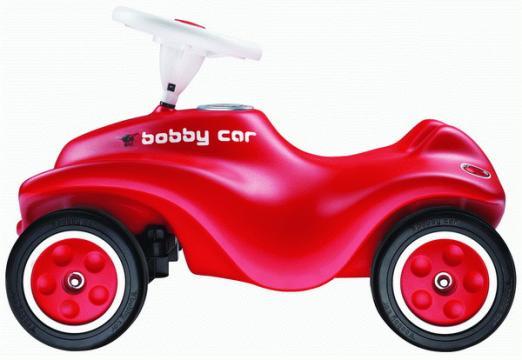 Auto odstrkovadlo NEW BIG BOBBY CAR červené