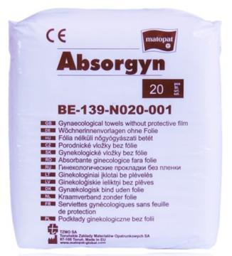 Absorgyn poporodní vložky bez fólie  á 20 ks