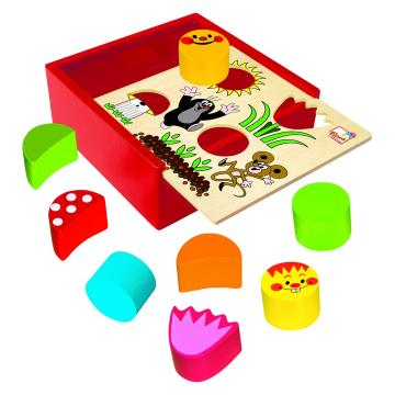 Krabička s tvary Krtek