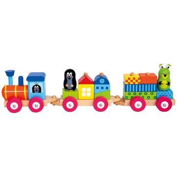 Vlak s domečky - Krtek