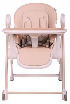 MEDA jídelní židle eko kůže rose