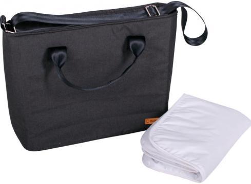 SEBA přebalovací taška anthracite melange