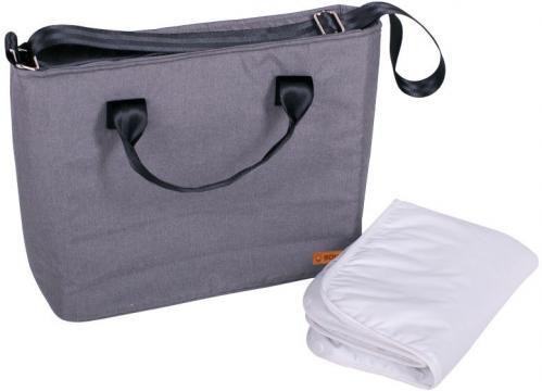 SEBA přebalovací taška grey melange