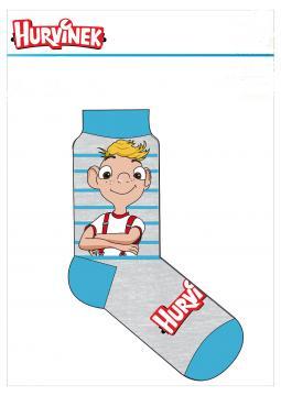 Dětské ponožky Hurvínek 1 balení  vel. 27-30