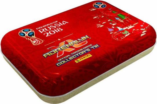 WORLD CUP 2018 - ADRENALYN - plechová krabička