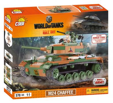 World of Tanks M24 Chaffee, 370 k, 1 f