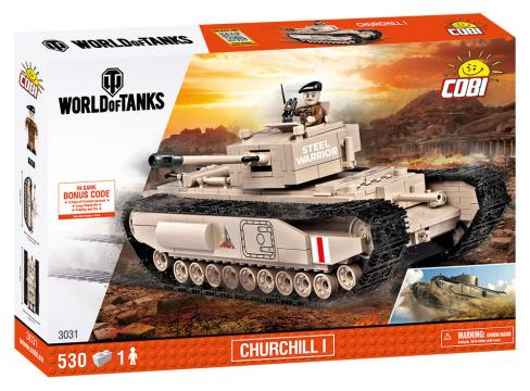 World of Tanks Churchill I, 530 k, 1 f