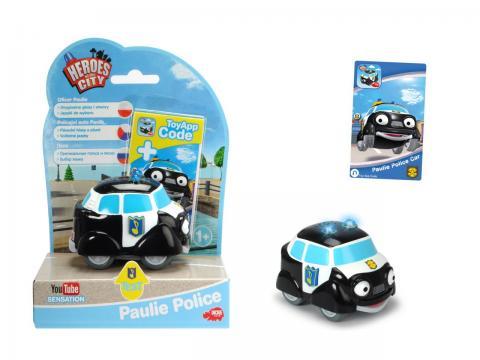 Pavlík policejní auto